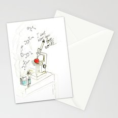I don't know how love works Stationery Cards
