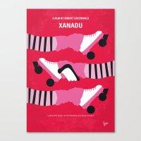 No516 My Xanadu Minimal … Canvas Print