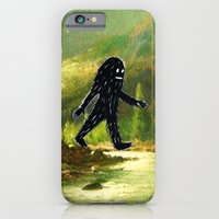 iPhone & iPod Case featuring Sasquatch by Andy Detskas