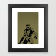 Master Chief Framed Art Print