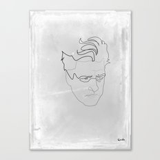 One line David Lynch Canvas Print
