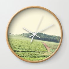 on the hill::uganda Wall Clock