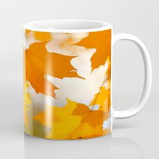 Yellow-orange Autumn Mug