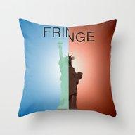 Fringe. Statue Of Libert… Throw Pillow