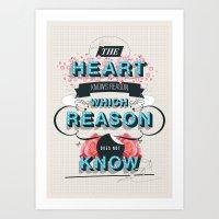 The Reason Art Print