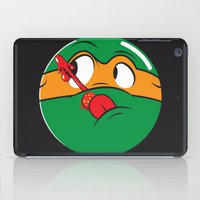Who Watches the Pizza? iPad Case