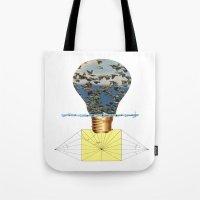 Ideas Come, Ideas Go Tote Bag