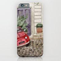 Red Beetle Car iPhone 6 Slim Case