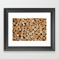 the forest for the trees Framed Art Print