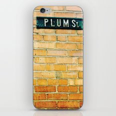 plum street. iPhone & iPod Skin
