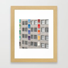 new america office one Framed Art Print