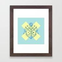 Maritime Love Framed Art Print