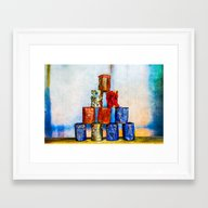 Soup Cans - After The Lu… Framed Art Print