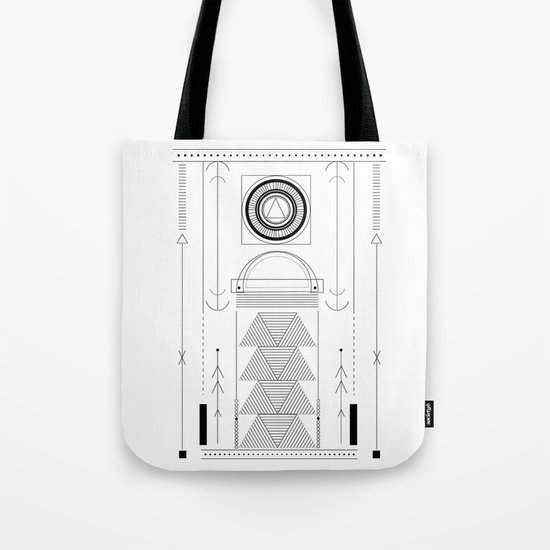 cirquit blank Tote Bag