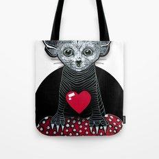Little Fenek:::Big-hearted Tote Bag