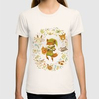 The Legend Of Zelda: Mam… Womens Fitted Tee Natural SMALL