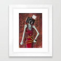 I'll Make You Love Me, Paparazzi Framed Art Print