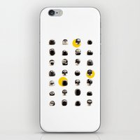 stoneheads 002 iPhone & iPod Skin