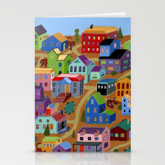 Tigertown Stationery Card