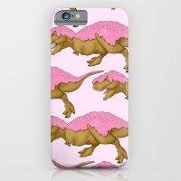 iPhone & iPod Case featuring Donutsaurus Rex by Alejo Malia