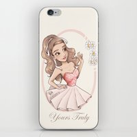 Yours Truly iPhone & iPod Skin