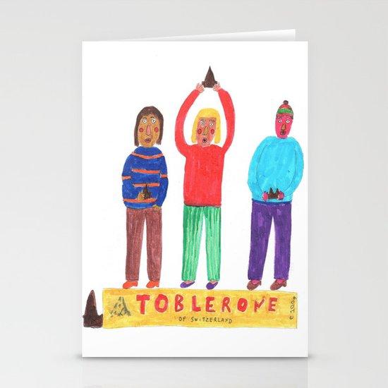 Toblerone. Stationery Card