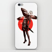 Shark Lady · Honey, what do you do for money? iPhone & iPod Skin