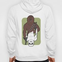 Chewbacca and Stormtrooper Hoody