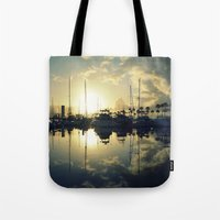 marina morning Tote Bag