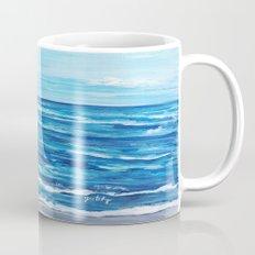Choppy Ocean Painting Mug