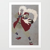 Jiraiya Art Print