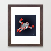 Jaianto Punch-Robo Framed Art Print