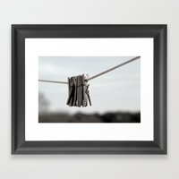 In A Pinch Framed Art Print
