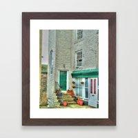 Village Cottage Framed Art Print