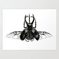 Scarab Two Art Print