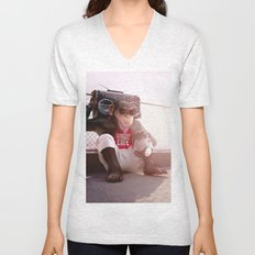Monkey Beat Unisex V-Neck