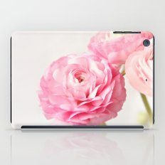 Ranunculus trio iPad Case