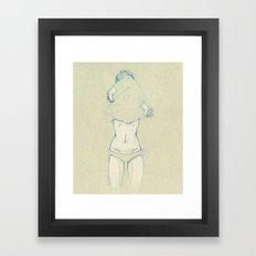 Dec. Framed Art Print
