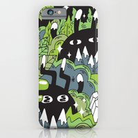 iPhone & iPod Case featuring Little Lurkers by Frenemy
