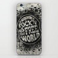Keep On Rock'n!  iPhone & iPod Skin