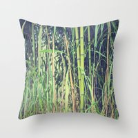 Ubiquitous Bamboo Throw Pillow