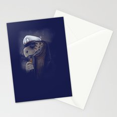 Turtlenecked Sea Captain Stationery Cards