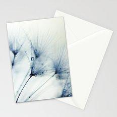 dandelion blue Stationery Cards