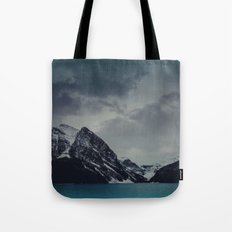 Lake Louise Winter Landscape Tote Bag