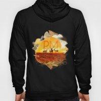 Sunset Adaption | Peter McVeigh logo Hoody