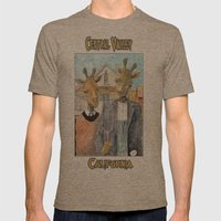Central Valley California Mens Fitted Tee Tri-Coffee SMALL