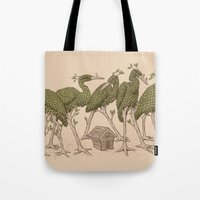Bird Forest Tote Bag