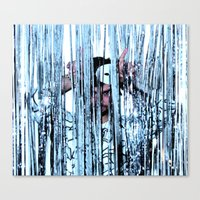 Canvas Print featuring CRY STAL KNIGHT by kid Icarus