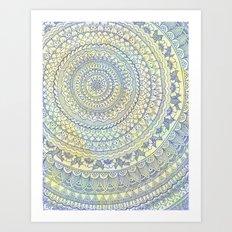 Mandala Doodle Art Print