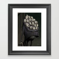 CHORUS MAN Framed Art Print